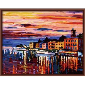 seascape Landschaft Öl malen nach zahlen auf leinwand gx6378 malerei zusammen