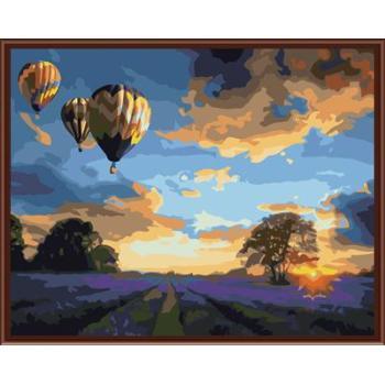 feuer ballon Photo Paint nach zahlen auf leinwand handmaded kunst lieferanten gx6523