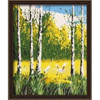 naturel abstrakten Öl leinwand malen nach zahlen treebild gx6737