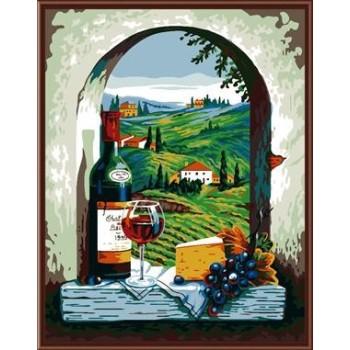 stillleben Landschaft Öl handmaded malen nach zahlen malen junge marke gx6827