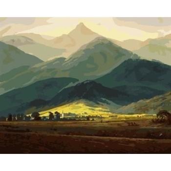 Ölgemälde von nummer naturel landschaftsmalerei auf canvsa gx6970 fabrik neues design