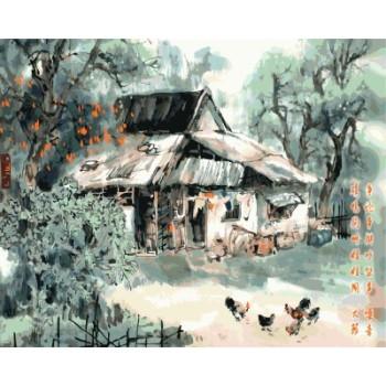 diy malen nach zahlen chinesische landschaft 2015 neue heiße foto gx7150