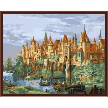 malen Junge Landschaft malen nach zahlen gx6828
