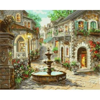 kunst lieferanten leinwand Öl malen nach zahlen kit für schlafzimmer gx7172