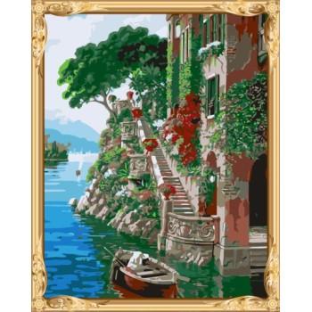 hot landschaftsbild nach zahlen leinwand Ölmalerei für wand dekor gx7249