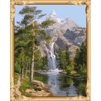 gx7364 Bild von Zahlen naturel Landschaft leinwand diy Ölmalerei für Wohnzimmer dekor