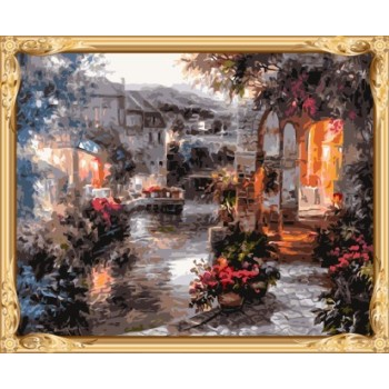 gx7492 landschaft leinwand Öl malen nach zahlen für schlafzimmer dekor