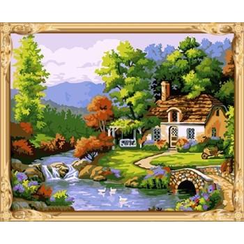 gx 7633 acryl malen nach zahlen landschaft Ölgemälde für erwachsene