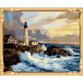 Gx7682 seascape leinwand Öl malen nach zahlen paint-kits