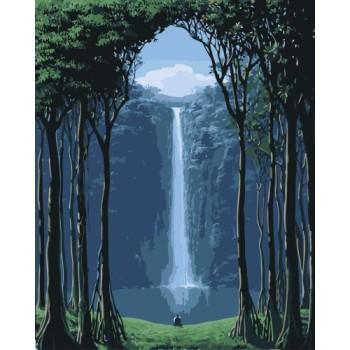 gx7679 Landschaft malen nach zahlen billige acrylfarbe für den großhandel