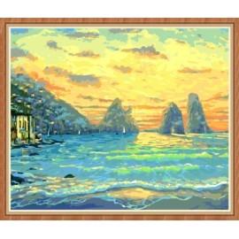 Pinturas al óleo marino by números para venta al por mayor GX7842