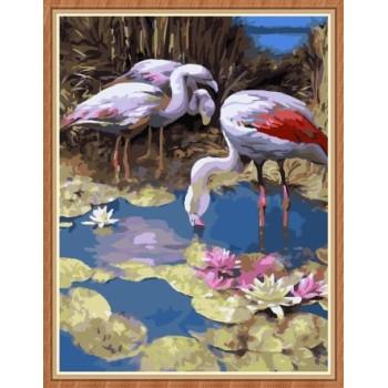 kunsthandwerk leinwand malen nach zahlen kit für wohnkultur gx7856