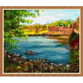 Paintbpy diy leinwand Öl malen nach zahlen für wand-kunst gx7850