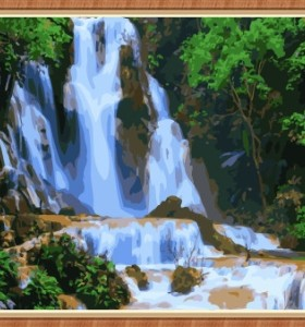 art suppliers landscape diy oil painting for home decor GX7869