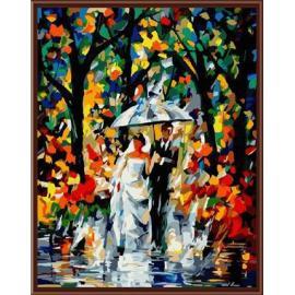 La boda de imágenes pintura al óleo by números GX6385 al óleo abstracta paintig en la lona