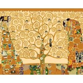 Pintura al óleo by números en la lona pintura al óleo abstracta GX6959