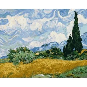 malen nach zahlen kit naturel Landschaft abstrakten malerei fabrik neues Bild gx6967 yiwu großhandel