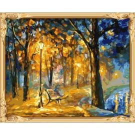 Pintura al óleo abstracta by números hobby determinado de la pintura para adultos GX7316