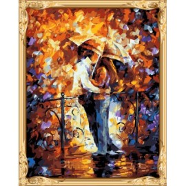 gx 7623 abstrakte Liebhaber Mann und frauen leinwand Öl malen nach zahlen billige kunstbedarf