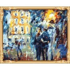 Gx6001 amante el hombre y la mujer para colorear by números pinturas murales abstracto