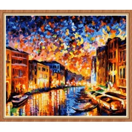wand art decor abstrakten Öl malen nach zahlen für den großhandel gx7862