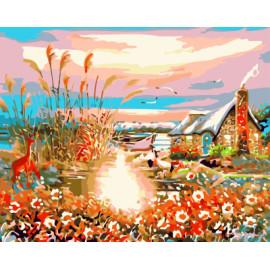 Gx7947 leinwand Öl malen nach zahlen für wand-kunst