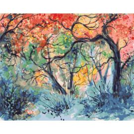Gx7939 abstracta pintura al óleo diy para colorear by números de la decoración del hogar