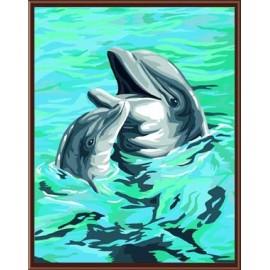 großhandel diy Öl malen nach zahlen abstrakte gemälde gx6161