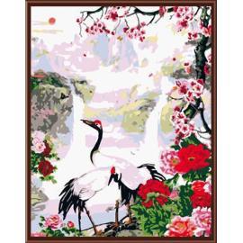 tier und blume Bild handbemalte Ölbild auf leinwand gemälde von nummer gx6413 großhandel kunst lieferanten