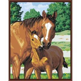 tier bild pferd design handbemalte Ölbild auf leinwand gemälde von nummer gx6415 großhandel kunst lieferanten yiwu