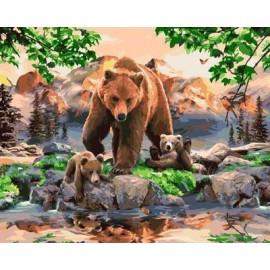 Malen nach zahlen für den großhandel tier-design kunst malerei gesetzt gx7053 kunst lieferanten