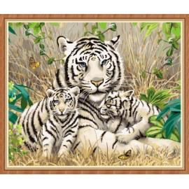 neue tiger diy malen nach zahlen gx7810
