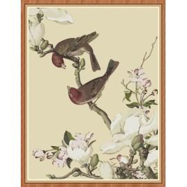 paintboy chinesische blumen und Vogel Öl malen nach zahlen kit für wohnkultur gx7875