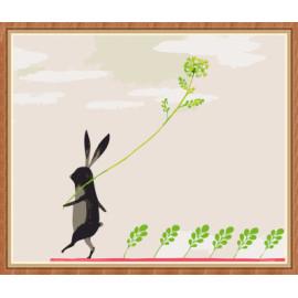 kunst lieferanten kaninchen diy malen nach zahlen für den großhandel gx7891