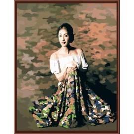 nackte frauen Öl malerei auf leinwand diy digitalen Öl malen nach zahlen gx6026