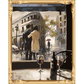 acrylfarbe wand Kunstliebhaber frauen und männer diy digitale Ölgemälde für wohnkultur gx7570