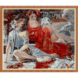nackt sexy frauen Öl malen nach zahlen kit für schlafzimmer gx7897