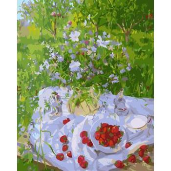 stillleben abstrakten Öl malen nach zahlen gx6551 Natur Landschaft blume obst design