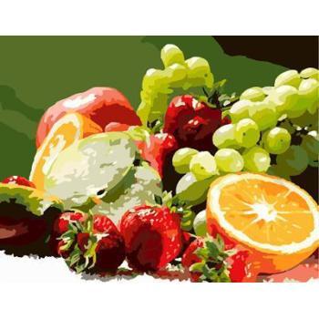 stillleben früchte design abstrakte Ölfarbe durch die anzahl gx6706 2015 neues design