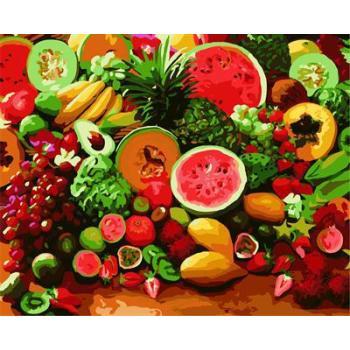 stillleben früchte design Öl malen nach zahlen gx6709