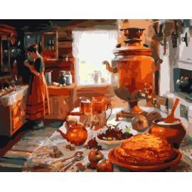 leinwand malen nach zahlen gx6561still Leben Küche Design