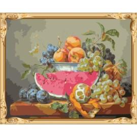 Acryl handgefertigt stillleben malen nach zahlen-sets Ölbild auf canvs gx7467