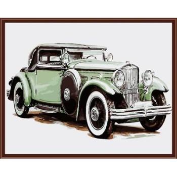 Malerei kunst gesetzt färbung von Zahlen leinwand Ölgemälde auto-design gx6303
