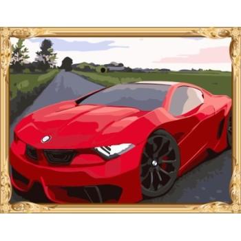 berühmte auto foto leinwand Öl malen nach zahlen für wholeasles gx7295