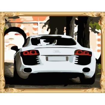 gx7355 yiwu großhandel berühmte auto foto diy malen nach zahlen auf leinwand
