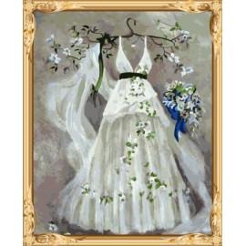 gx 7609 Traum der Hochzeit Öl malen nach zahlen diy leinwand kunst für schlafzimmer dekor