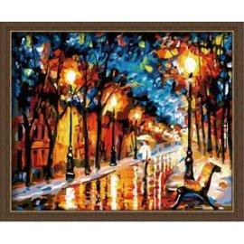 farbe setzt abstrakte malerei auf leinwand landschaft Ölgemälde
