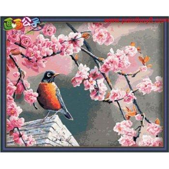 Besten preis diy Öl malen nach zahlen g041 Blumen-und vogel design malerei jia cai tian yan marke