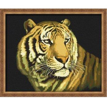 G036 tiger bild tier-design diy Öl malen nach zahlen