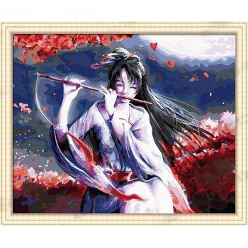 Diy Öl malen nach zahlen g022 mädchen design acryl-malerei auf leinwand